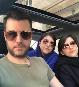 چهرهها/ دور دور باربد بابایی با دخترانش