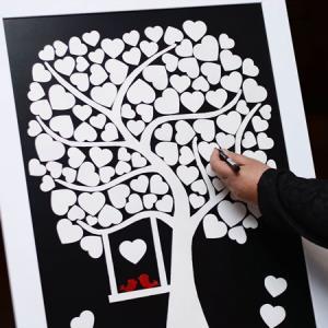 تابلو یادبود عقد و عروسی