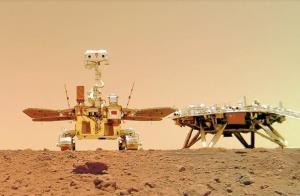 کاوشگر چینی روی مریخ سلفی گرفت