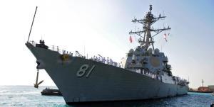 کشتی جنگی آمریکا وارد دریای سیاه شد