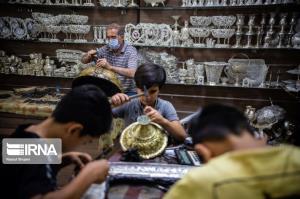 نقرهسازی، یکی از فاخرترین آثار صنایع دستی اصفهان