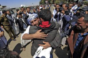 مبادله اسیران دولت مستعفی و انصارالله یمن