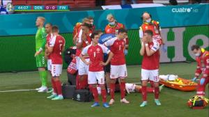وضعیت بحرانی اریکسن دیدار دانمارک - فنلاند را لغو کرد!