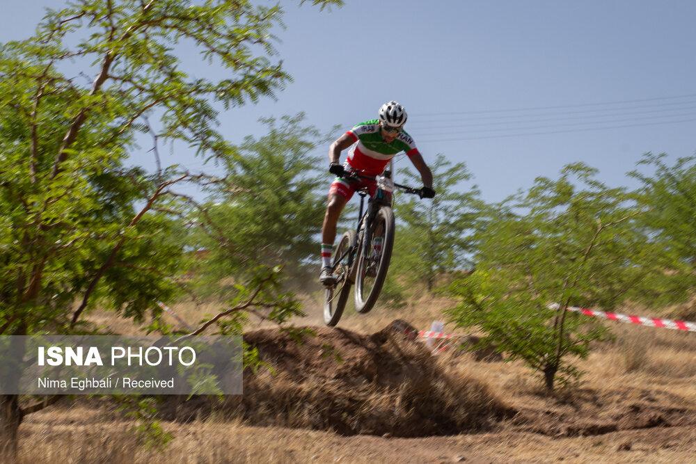 مسابقات دوچرخه سواری کراس کانتری در قزوین