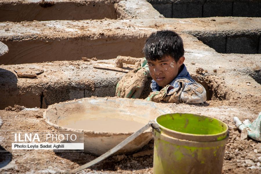 عکس/ کودکان کار قربانیان بی تدبیری