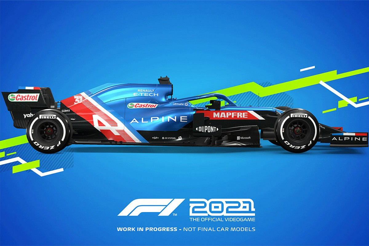 نخستین تصاویر بازی F1 2021 منتشر شد