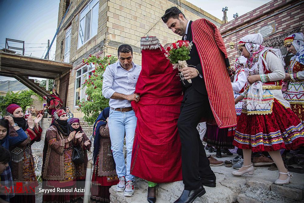 تصاویری جالب از عروسی سنتی در کلات