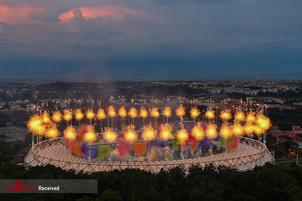 دیدار تیمهای ایتالیا و ترکیه و افتتاحیه رقابتهای یورو ۲۰۲۰