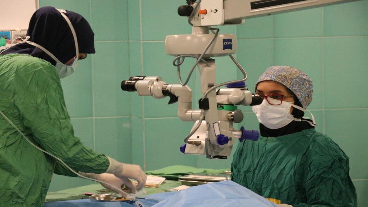 انجام جراحی چشمی آب سیاه برای نخستین بار در بابل