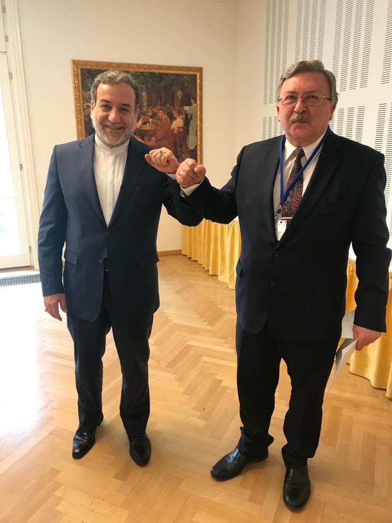 روسای هیات های ایران و روسیه در مذاکرات وین