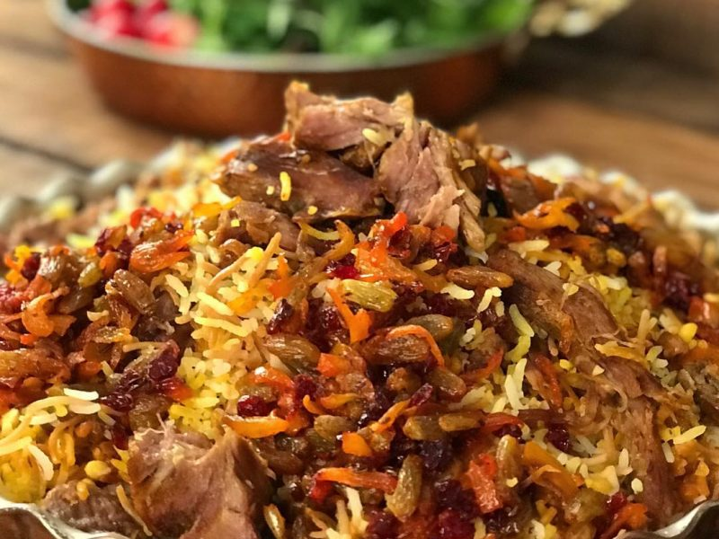 غذای اصلی/ «مانی پلو» مجلسی غذای سنتی دامغان به 3 روش