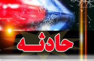 سرعت زیاد در زنجان حادثه آفرید