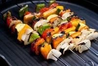 روش پخت کباب سبزیجات یونانی ویژه گیاهخواران