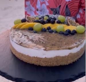 تهیه «چیز کیک» استوایی در ساحل مالدیو