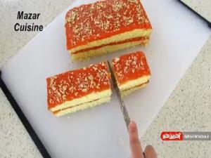 صفر تا صد تهیه کیک هویج پر ملات