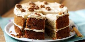 «کیک قهوه و گردو»؛ یک عصرانه خوشمزه و متفاوت