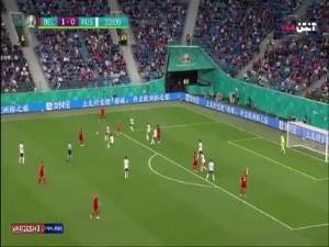 گل دوم بلژیک به روسیه