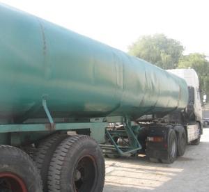 توقیف کامیون حامل سوخت قاچاق در میناب