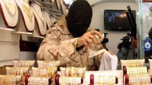 ناکامی سارق مسلح طلا فروشی با هوشیاری مامور پلیس