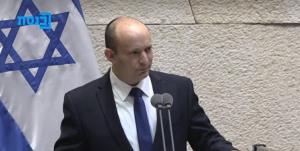 بنت سخنان خود در کنست را با تشکر از نتانیاهو آغاز کرد
