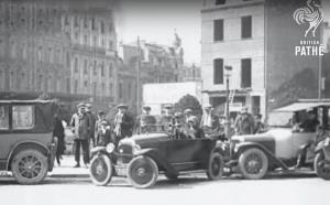 ایده جالب اروپاییها در دهه 20 برای آسان شدن پارک خودرو!