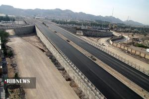 پیشرفت ۹۵ درصدی جاده جدید سنندج - مریوان