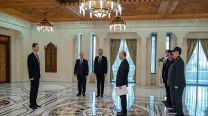 سفیر جدید ایران استوار نامه خود را تقدیم بشار اسد کرد