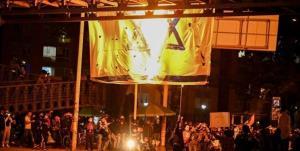 آتش زدن پرچم رژیم صهیونیستی در کلمبیا