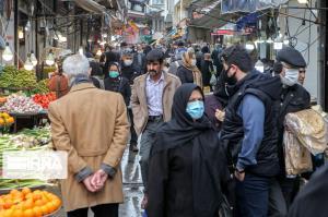 ازدحام مردم کرمانشاه در بازار و مراکز خرید از لحاظ شیوع کرونا نگرانکننده است
