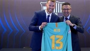 مقصد بعدی سنگربان بارسلونا مشخص شد
