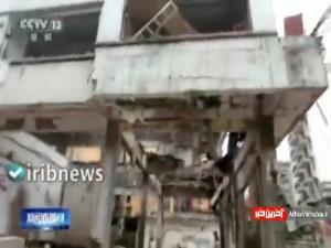 انفجار خط لوله گاز در مرکز چین ۱۱ کشته و ۳۷ زخمی برجا گذاشت
