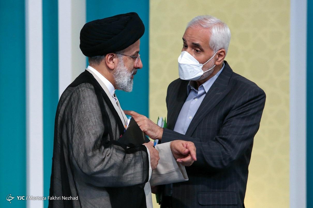عکس/ صحبت های خصوصی و شاکیانه مهرعلیزاده با رئیسی