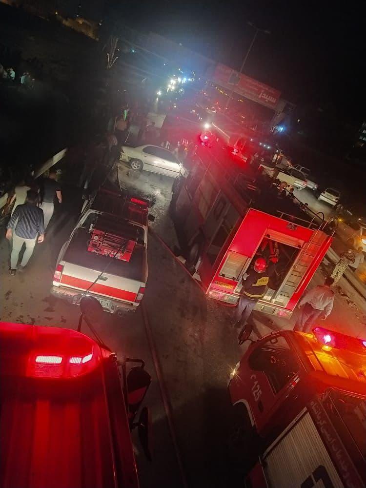 ۴ کشته و زخمی بر اثر سانحه رانندگی در ورودی کرمانشاه
