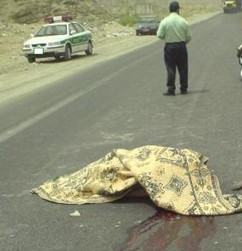 بیتوجهی راننده منجر به مرگ اعضای خانواده شد