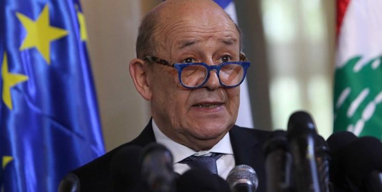 لودریان: فرانسه برای بنت و لاپید آرزوی موفقیت میکند