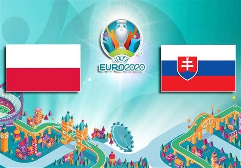ترکیب تیمهای لهستان و اسلواکی مشخص شد