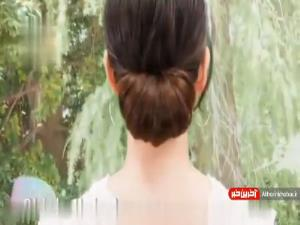 آموزش بستن موها برای شروع روزی با نشاط