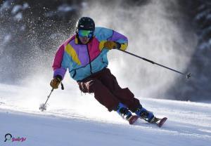 کمک به رقیب در رقابت های اسکی