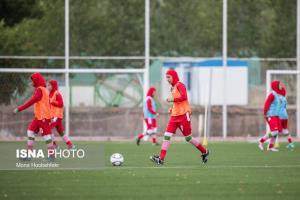 پیروزی پر گل دختران فوتبالیست ایران مقابل افغانستان