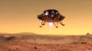 حفرهای زیر مریخ نورد چینی ژورنگ کشف شد