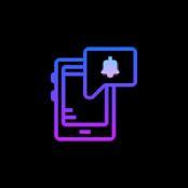 تبدیل صفحه نمایش به چراغ نوتیفیکیشن