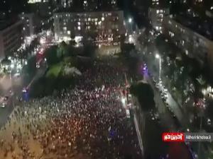 جشن و پایکوبی برای پایان نخست وزیری نتانیاهو