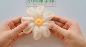 آموزش بافت گل برای تزئین هدبند