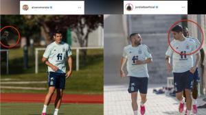 «مهمان ناخوانده» تمرین تیم ملی اسپانیا چه کسی بود؟