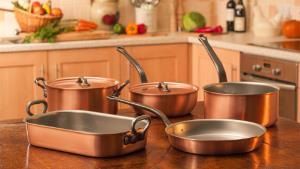 ظروف مسی برای استفاده در پخت و پز باید چگونه باشد؟