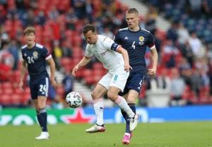 شکست اسکاتلند مقابل جمهوری چک در نیمه اول