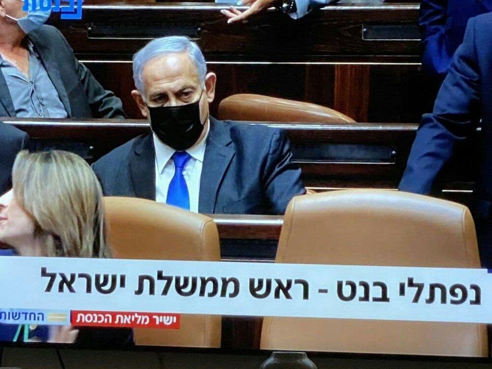لحظه پایان نتانیاهو با این چهره درهم ریخته