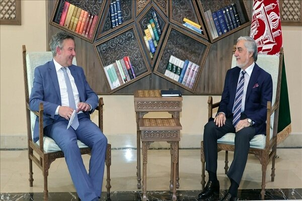 دیدار عبدالله عبدالله با نماینده ویژه آلمان