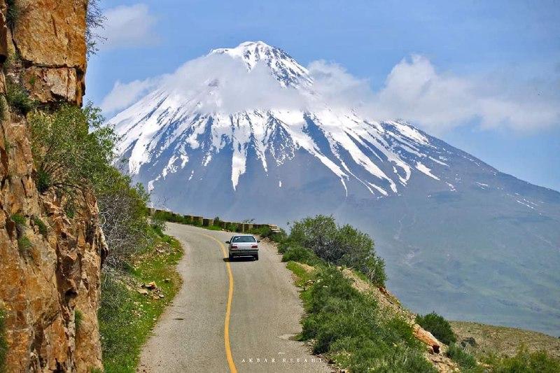جادهی کوهستانی منطقه آزاد ماکو