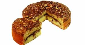صفر تا صد «کیک کرامبل» گردویی فوق العاده خوشمزه به روش قنادی